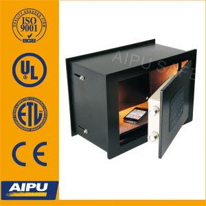 Coffre-fort extensible électronique de mur de profondeur (Exws250-E)