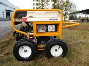 Gasolina generador de 5kVA de 240 voltios con IP66 Resistente al agua la toma de Australia y el RCD