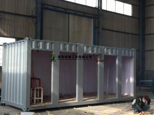La préfabrication délestée par conteneur de parking chambre