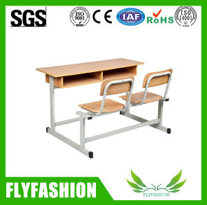 Le mobilier scolaire étudiant Double Bureau et chaise de salle de classe