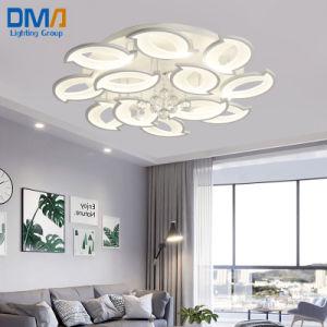 Современные декоративные цветы дизайн акриловые Crystal потолочный светильник