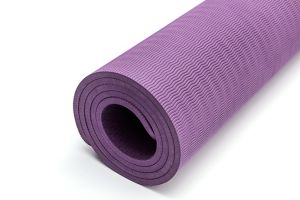 Tapete de Yoga Borracha Non-Slipping TPE