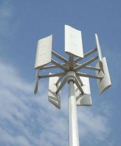 De turbine-Verticaal van de wind 600W