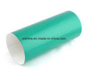 E-glans de Geschikt om gedrukt te worden Witte Film van de Rang van de Reclame van pvc van de Kleur Materiële Weerspiegelende Vinyl Afdekkende voor OpenluchtAanplakbord (ES3300)