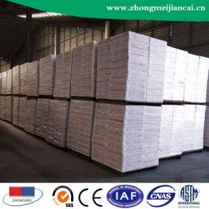 Conseil de plafond en plâtre laminé PVC avec feuille d'aluminium635