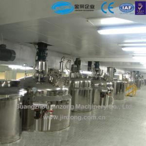 Maquinaria Jinzong Champú de alta calidad/detergente líquido/Líquido Jabón y gel de ducha mezclador