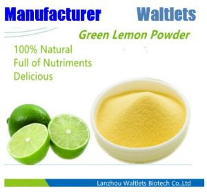 100% натурального фруктового сока лимона зеленого цвета Порошок