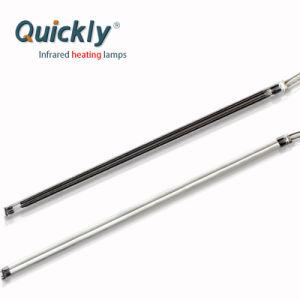As lâmpadas de aquecimento por infravermelhos de quartzo 3000W para impressão de tela de vidro