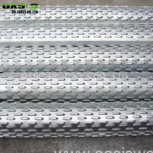 Filtro per pozzi dell'acqua di controllo sabbia/del filtro per pozzi scanalato ponticello perforato