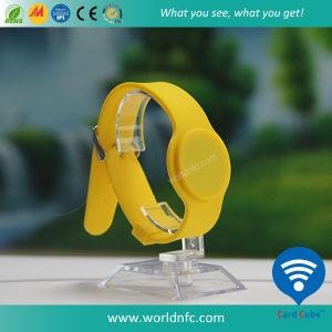 13.56MHz Ntag213 RFID SilikonWristband für Ereignisse