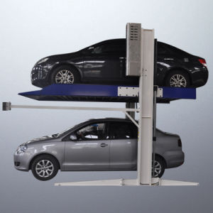 二重シリンダー2ポストが付いている油圧車の駐車上昇