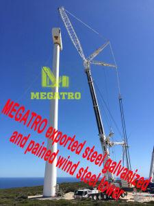 Aço Galvanizado Megatro exportados e se ouvirem Torre de aço do vento