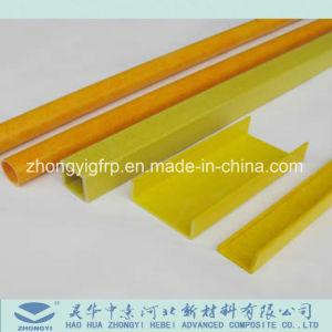 El FRP/GRP Anti-UV de canal de fibra de vidrio perfiles Pultruded anticorrosión