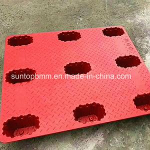 4-Way de la luz de la horquilla de palets de plástico moldeado por soplado contenedor logística