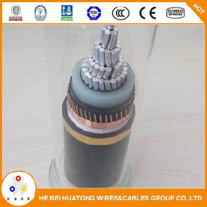 Taper le câble d'alimentation électrique du câble 1X 185 mm2 Cu/XLPE/Cts/PVC 18/30 (36) kilovolts IEC60502armored de N2xsy