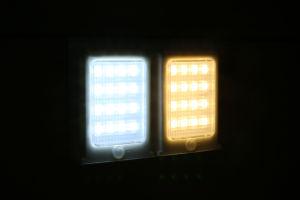 Reine die LED-helle Steuerung/kühlen ab,/warme weiße Solargarten-Straßen-Wand-Licht