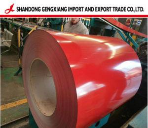 Bedekte de Hete Ondergedompelde Kleur van de fabrikant de Gegalvaniseerde Rollen van het Staal met een laag PPGI/Prepainted