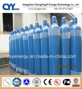 50L o Nitrogênio 150bar/200bar do cilindro de gás de aço sem costura