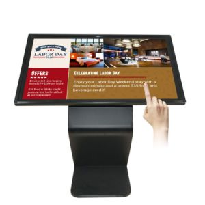 50 Signage HD van de duim de Volledige Digitale LCD Kiosk van het Scherm van de Aanraking van de Informatie van de Speler van de Reclame van het Netwerk van de Vertoning voor Gids/Onderzoek