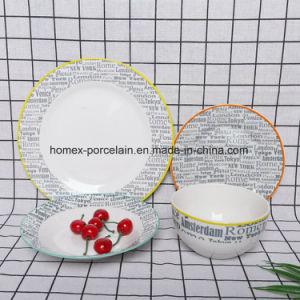 Populaires de l'Ouest nouveau style de jeu de la vaisselle en céramique