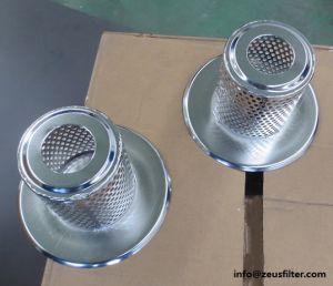 Éléments de filtre fritté personnalisé / paniers et de la cuvette du filtre à filtre pour un usage différent