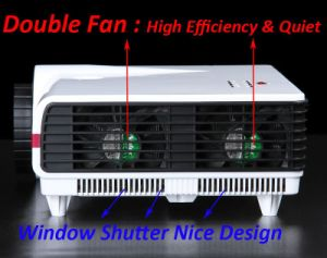 Hohe Helligkeit 3500 Lumen steuern Kino-Projektor automatisch an