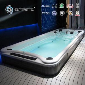 Pool van het KUUROORD van het Zwembad van het Systeem van Balboa van de luxe de Openlucht Opblaasbare met Massage SPA Straal