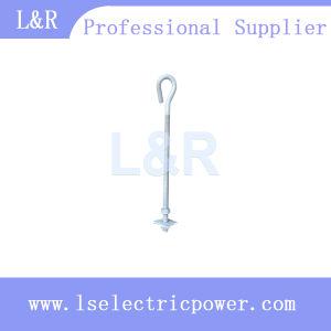 Trenza el tornillo de gancho trenza el tornillo de Hardware de la línea de polos
