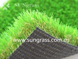 Paisagismo novo tapete de relva artificial para casa e jardim (SUNQ-AL00104)