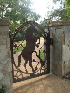بسيطة حديقة شبكة [فرونت غت] دار [ورووغت يرون] مدخل بوابة