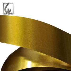 Monsieur Food Grade Golden fer-blanc électrolytique plaque en acier laqué