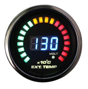 2 (52mm) Auto manómetros Medidor digital LED de 20 (6239)
