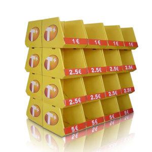 Kleinwühlkorb-Bildschirmanzeige mit bereiten Material für Supermarkt-Verkauf auf