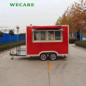 持ち上げられたWindowsが付いている電気移動式食糧ヴァン