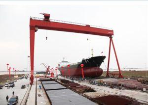 500tファクトリー・アウトレットのSGSが付いている適用範囲が広い造船業のガントリークレーン