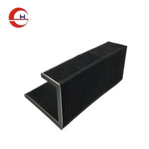 Flexible de la poussière CNC ci-dessous Couvercle capot de protection de l'Accordéon soufflet en nylon