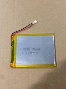정제 PC를 위한 고용량 Tpp357090 3000mAh Li 중합체 건전지