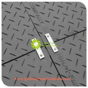 Zwarte Kleur/de Tijdelijke HDPE Bladen/Recyceled van de Weg Mat van Trackway voor Europa