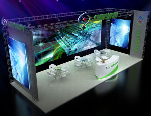 2016 Nouvelle conception intérieure Affichage LED de location