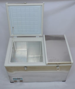 ACアダプター(100-240V)との屋外DCの圧縮機冷却装置100liter DC12/24V