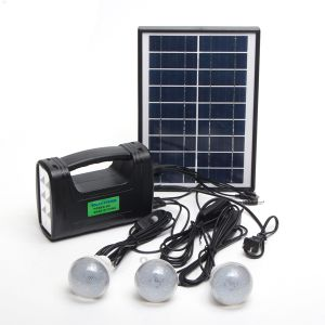 3W太陽ランプの太陽移動式充電器が付いている太陽エネルギーシステム
