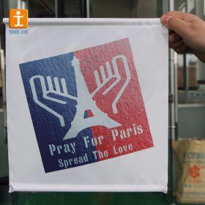 フルカラープリント天井ハングポスター旗