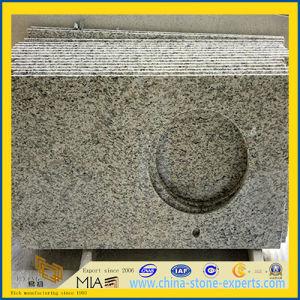 Countertop van het Graniet van de Huid van de tijger Witte voor Huis/Hotel/Badkamers/Keuken