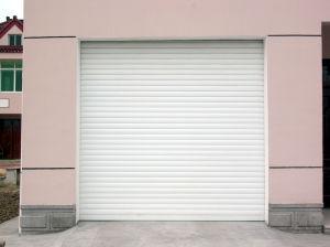 Fuera del rodillo de instalación automática de aluminio puerta rolling shutter