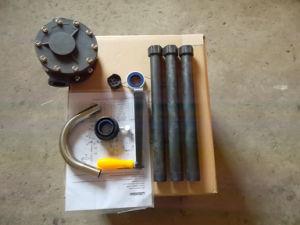 Il Plastique Rotative dell'en Ryton di Pompe Manuelle versa i corrosivi delle sostanze Et di Huiles Et i composti volatili - RP90rt