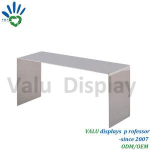 Fatto nel banco di mostra della mensola del pattino di vendita al dettaglio dello specchio del metallo della Cina