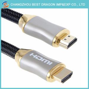 Hochgeschwindigkeits1080p 3D Stecker-Mann zum männlichen HDMI Kabel