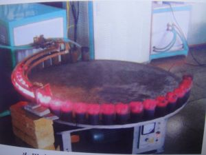 ダイヤモンドセグメント炭化物の先端のための高周波誘導電気加熱炉はブレイズ溶接を