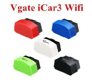 Vgate Icar3 carro WiFi Suporte de Ferramenta de interface de diagnóstico Android Market/ Ios/PC