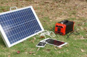 270whキャンプのための軽量のリチウム電池110V/220Vの太陽エネルギーの供給の太陽発電機